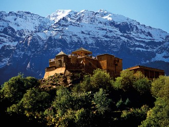 Located only 40 miles from Marrakech, the Kasbah Du Toubkal is a unique resort with a keen focus on supporting the local community