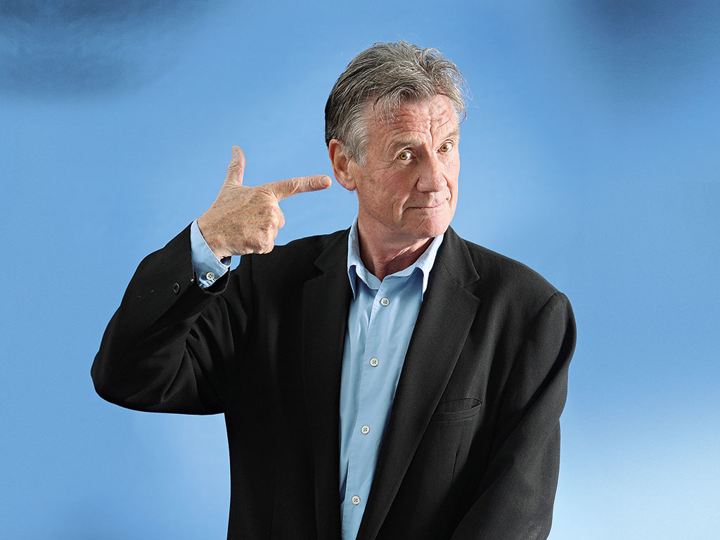 Michael Palin's travels have taken him to Cuba, Chicago and Nepal, among other destinations