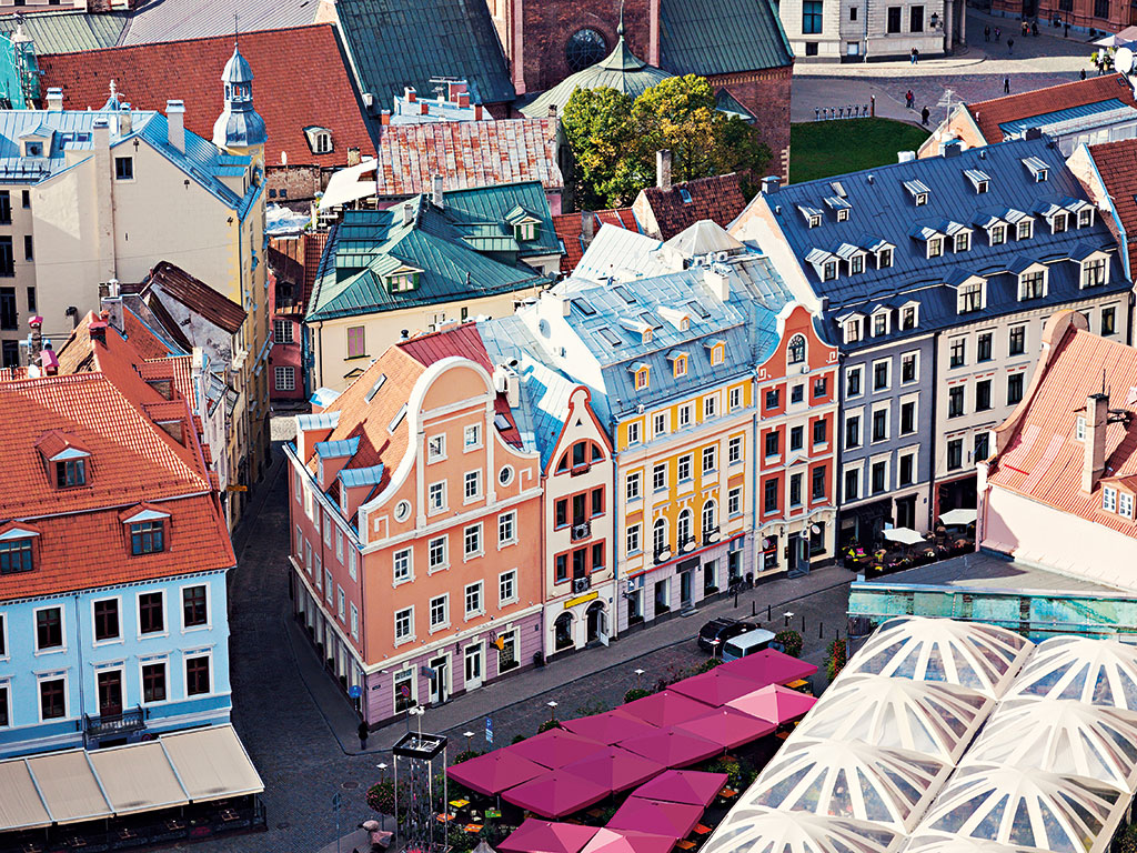 Riga has become a hotspot for business travellers, with more than 80 hotels and a development plan underway to expand its the city's capacity