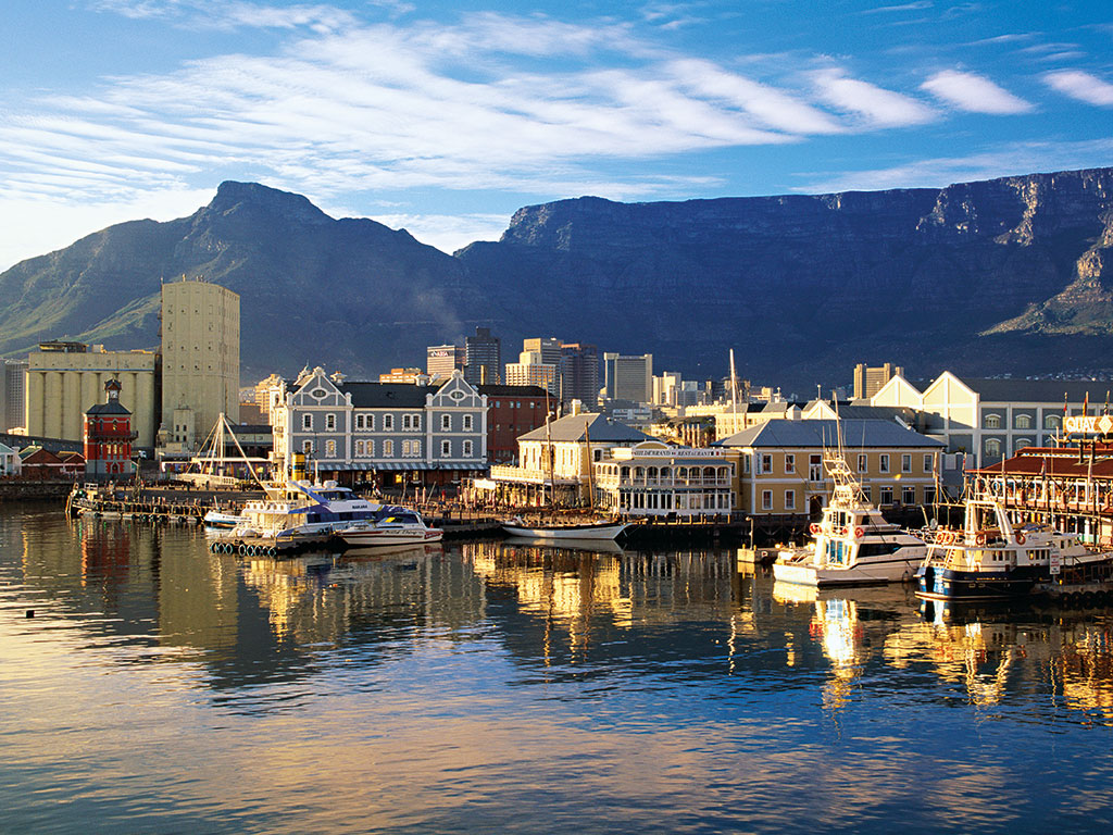 Cape Town's stunning waterfront. South Africa has not been the economic powerhouse many expected