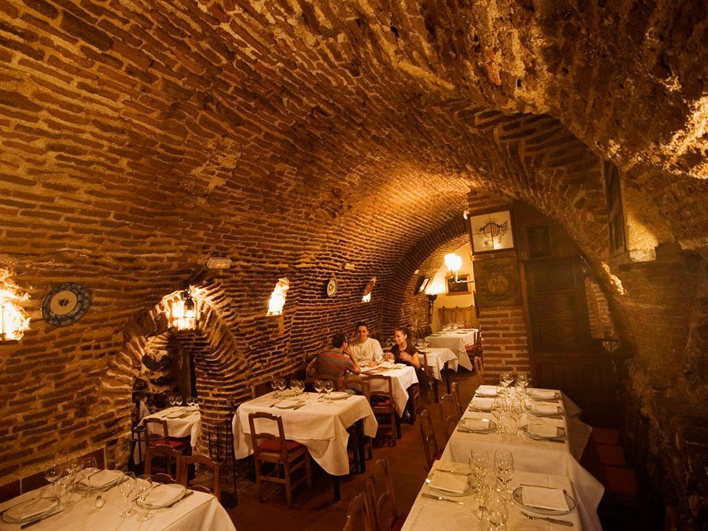 Botin restaurant, which has been open as far back as 1725