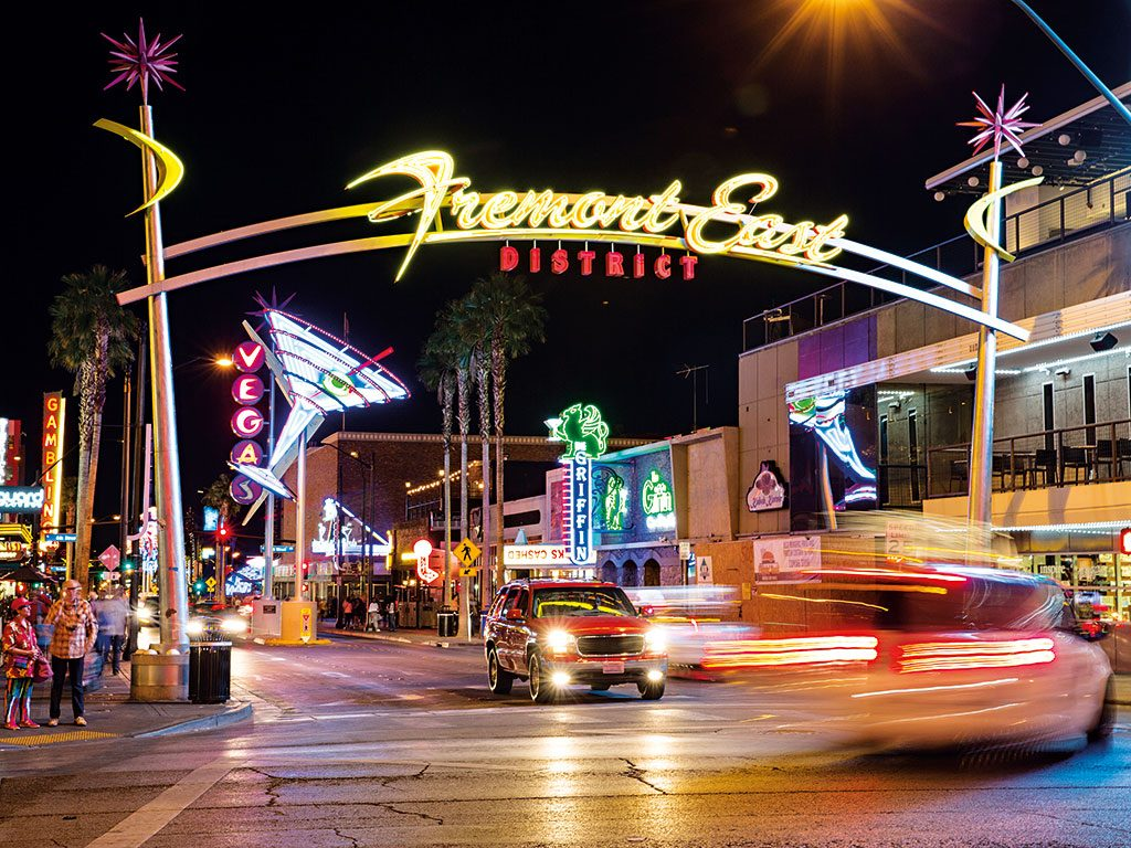 The Fremont East Experience, Las Vegas