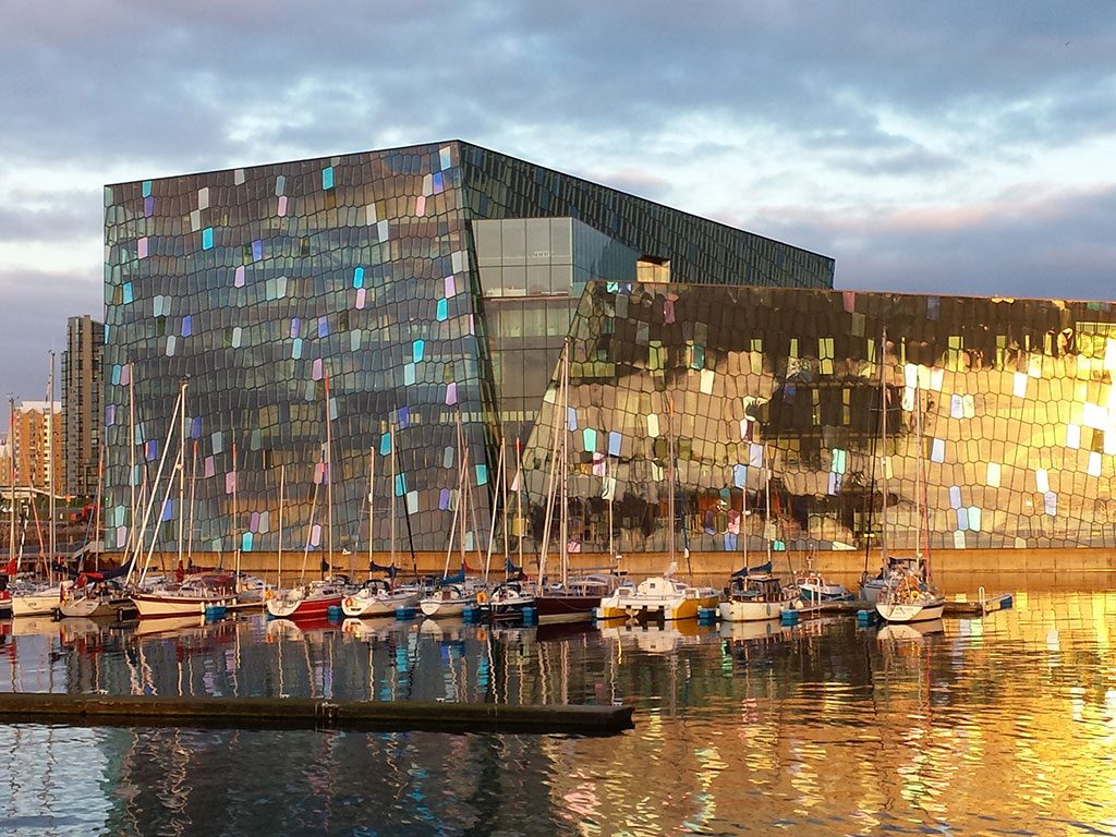 The Harpa Concert Hall and Conference Centre, Reykjavik