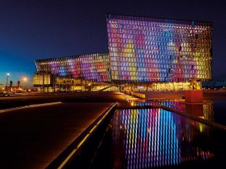 Located amid Iceland's stunning natural attractions, Harpa Concert Hall and Conference Centre has transformed the international conference experience