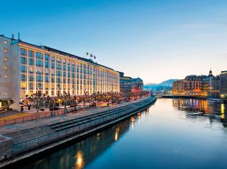 As a hub of cultural and commercial activity, Geneva offers incredible views, food and facilities for even the most discerning business traveller