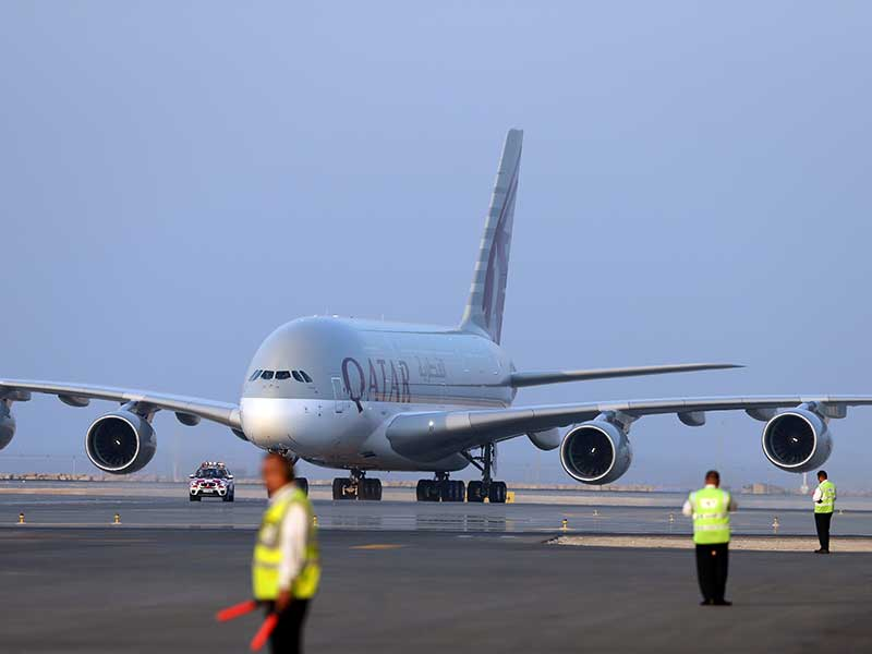 Flights in and out of Doha suspended as political tensions keep Qatar grounded