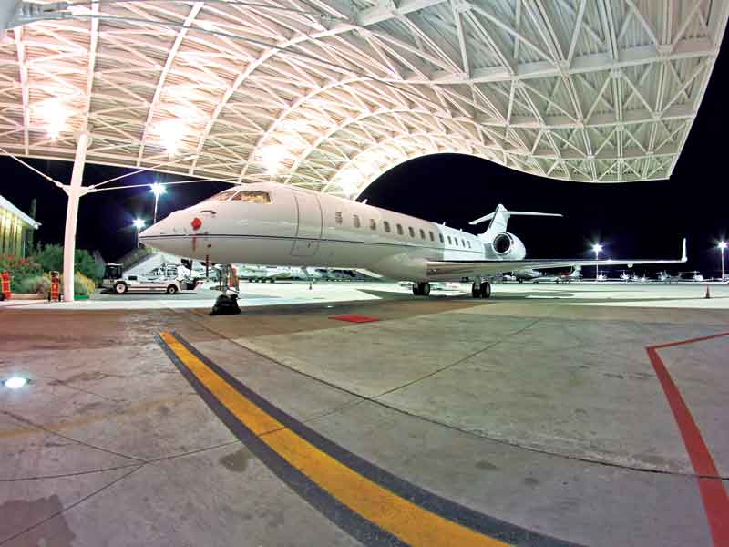 Eccelsa Aviation's passenger numbers and plane movements have doubled since the company was launched in 2003