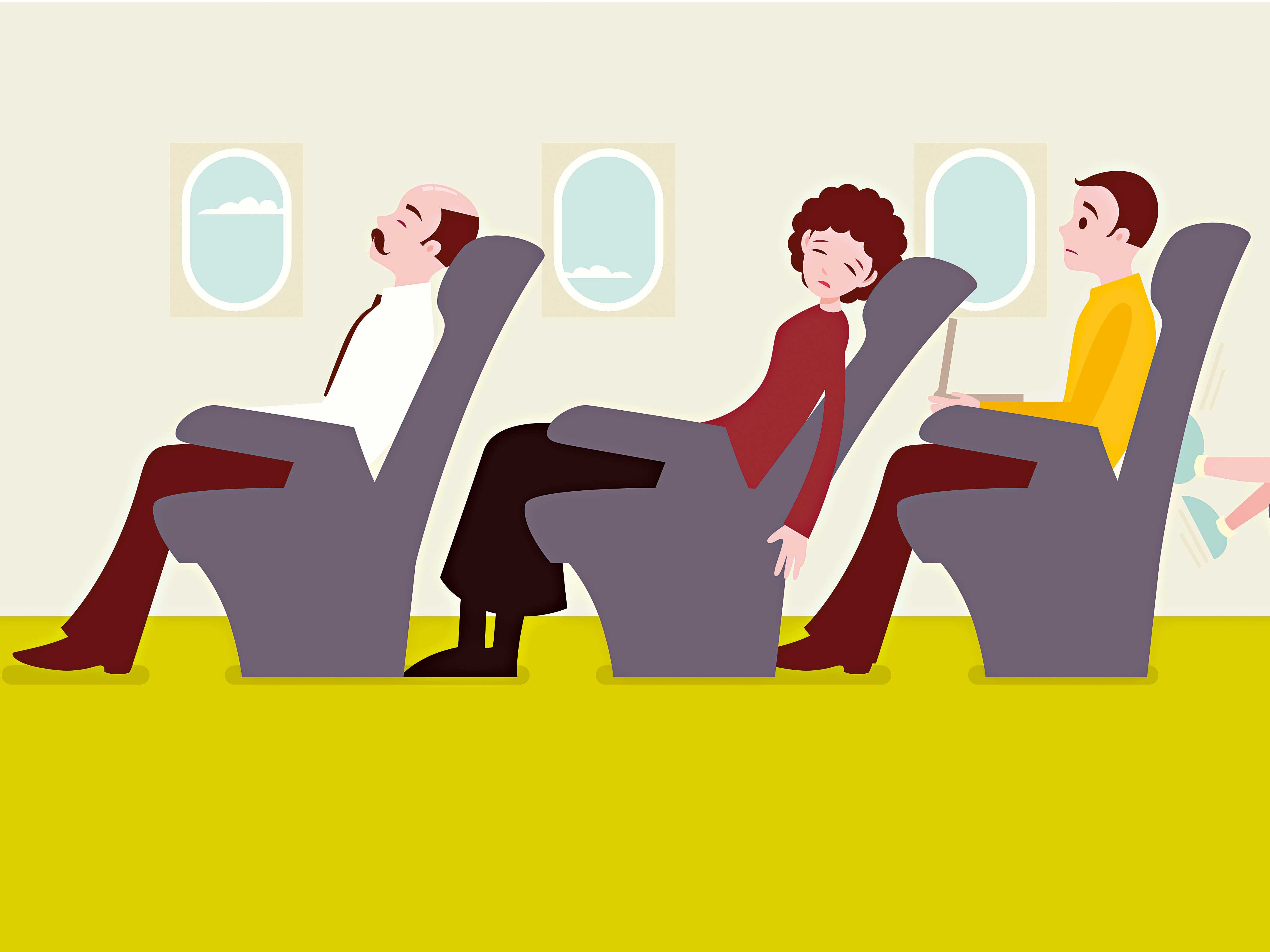Any discussion of inflight etiquette is incomplete without mention of the age-old reclining debate