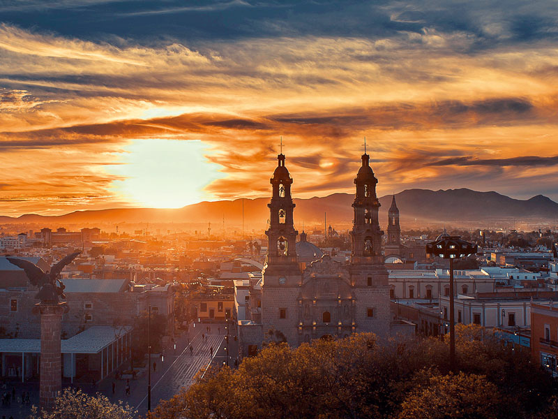 Aguascalientes boasts a pleasant climate for the majority of the year, alongside a strategic location in the centre of the country