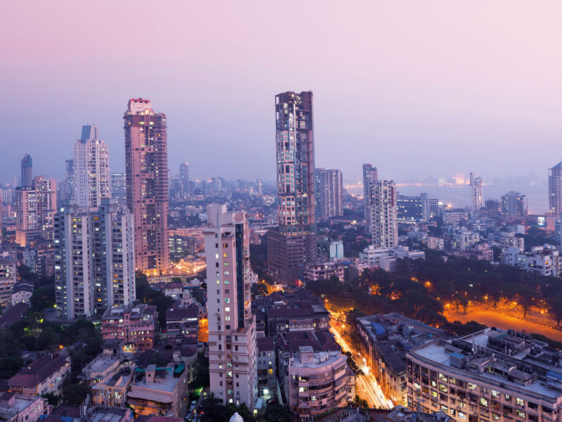 Major urban centres, like Mumbai, are experiencing the largest and fastest shifts away from industrial specialisation