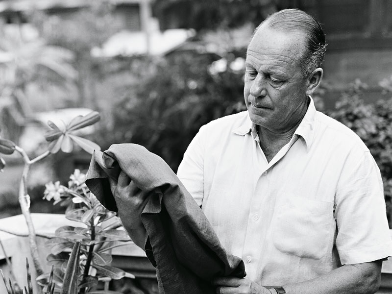 The legend of Jim Thompson, born James Harrison Wilson Thompson in 1906, is nothing short of extraordinary, for this American-born businessman almost single-handedly saved Thailand's now-booming silk industry from extinction