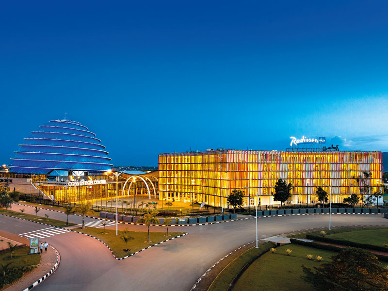The Kigali Convention Centre and its adjacent hotel, the world-renowned Radisson Blu, have a reputation for attention to detail, convenience and consistency