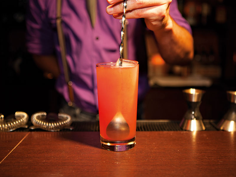 Restaurant by day, bar by night, Motto serves up a wide selection of cocktails