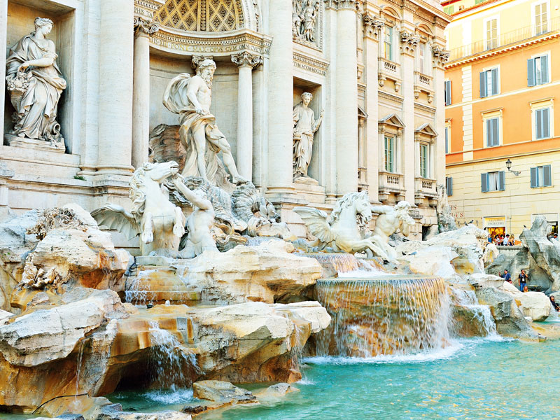In 2013, Fendi contributed €2.2m ($2.7m) to help clean up the Trevi Fountain,