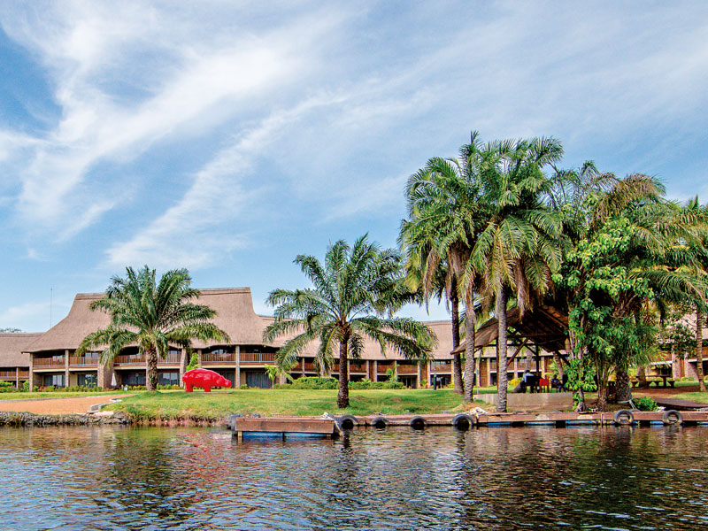 The Royal Senchi, developed on 35 acres of lush greenery along the bank of the Volta River, is one of West Africa's most romantic hotel destinations.