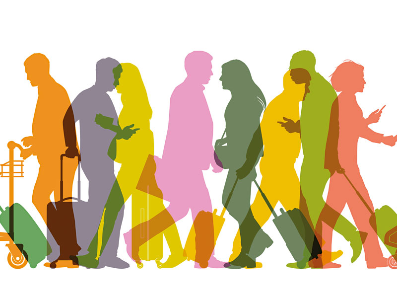 Public transport, airport security and check-in are just a few of the stress-inducing aspects of air travel