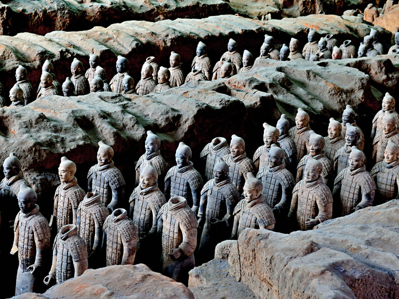 The Museum of Ethnology in Hamburg cancelled its exhibition on the Terracotta Army after discovering it was being sent replicas, not the originals
