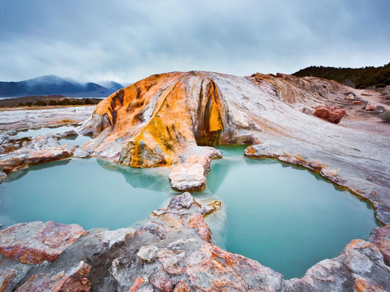 Travertine Hot Springs, US