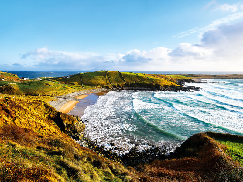 Donegal Town is the perfect place from which to explore the Wild Atlantic Way, which crosses nine counties from the top of Donegal to the bottom of Cork