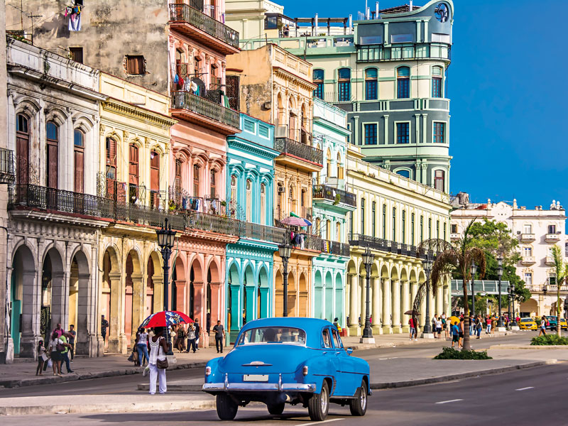 Take a stroll around Havana, Cuba's capital, today and you could be forgiven for thinking that you've travelled back to 1950s America